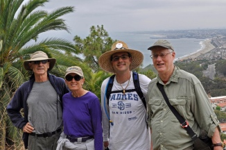 Terry, Russ, Kevin & Peter on Del Sol FR over So Bay beaches