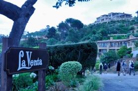 On the way down, by La Venta Inn