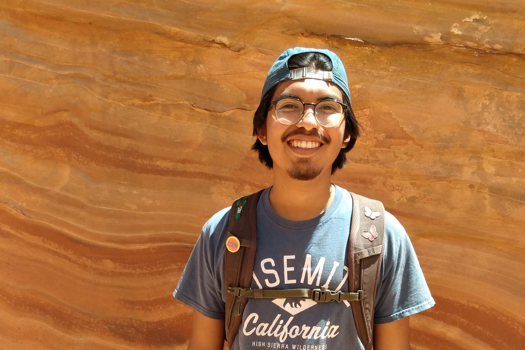 Marvin Contreras lives in Grand Staircase-Escalante